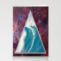 Spacial Crest Stationery Cards