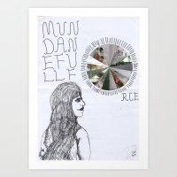 Mundane Full Force.  Art Print