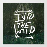 Into the Wild III Canvas Print