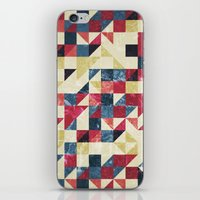 Geo Summer Grunge iPhone & iPod Skin