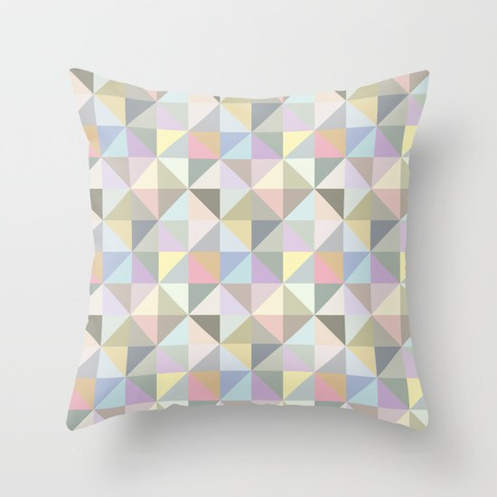 Shapes 003 Throw Pillow