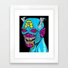 American Monster Framed Art Print