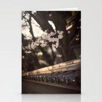 Sakura In Kyoto, Higashi… Stationery Cards