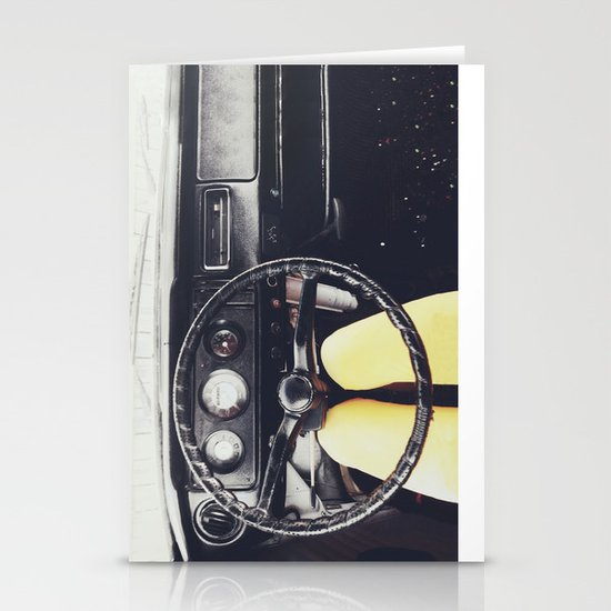 From Behind The Wheel - I Stationery Card