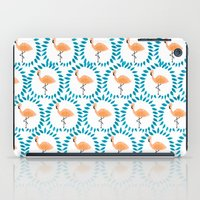 Flamingo and Leaves iPad Case
