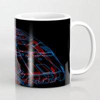 Classic Galactica 3D Mug
