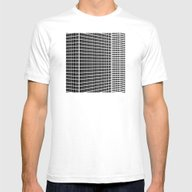 TWO BUILDINGS Mens Fitted Tee White SMALL