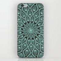 Delicate Teal iPhone & iPod Skin