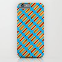 Pixel Hot Dogs iPhone 6 Slim Case