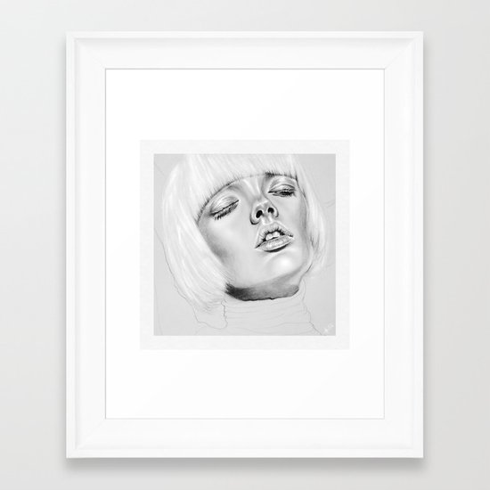 + DARK PARADISE + Framed Art Print