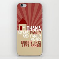 Ohana Means Family - Lil… iPhone & iPod Skin