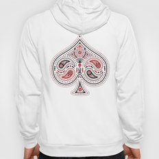 83 Drops - Spades (Red & Black) Hoody
