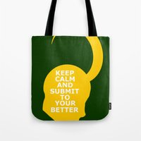 Keep Calm and Submit Tote Bag