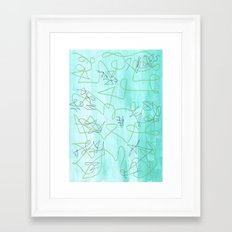 Abstract 173 Framed Art Print