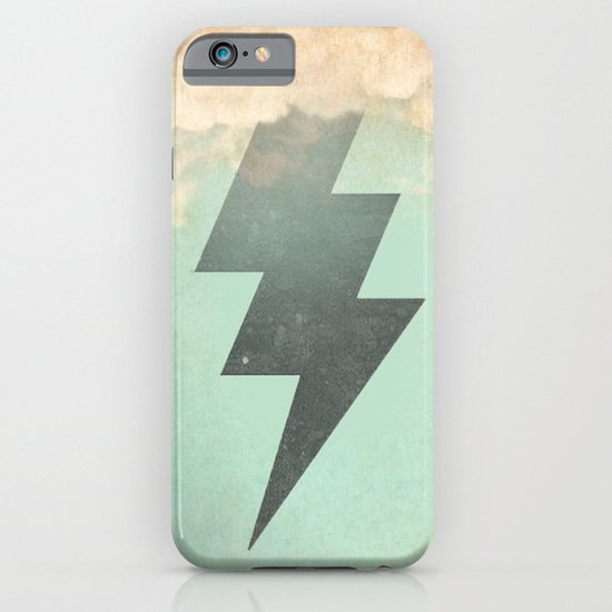 Bolt from the Blue iPhone & iPod Case