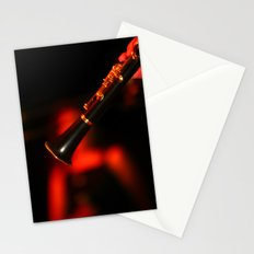 Slow Jazz Groove Stationery Cards