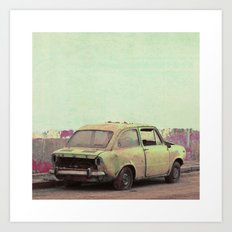 Old car Art Print