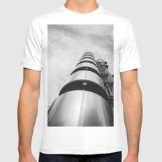 Lloyds building Mens Fitted Tee White SMALL