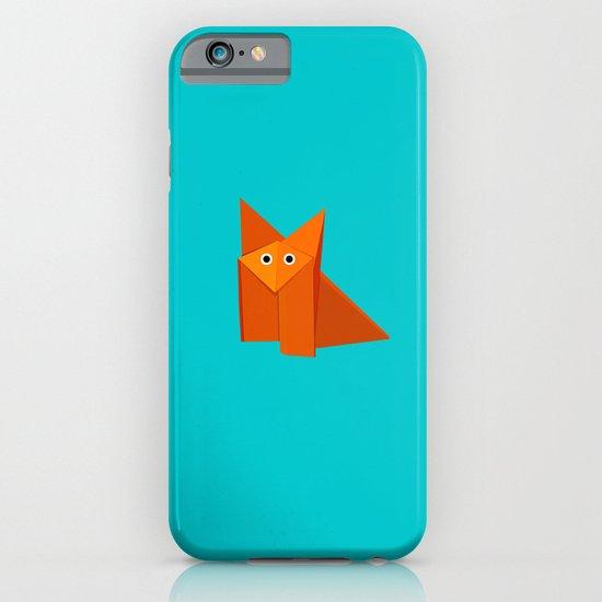 Cute Origami Fox iPhone & iPod Case