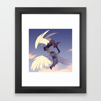 A Nightingale Sang Framed Art Print