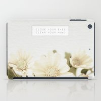 Close Your Eyes | Clear … iPad Case