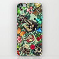 tropical vintage  iPhone & iPod Skin