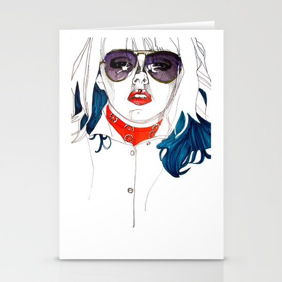 Kate  Stationery Card
