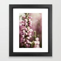 Violet dream Framed Art Print