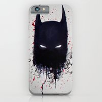 iPhone & iPod Case featuring The Dark Knight by joogz