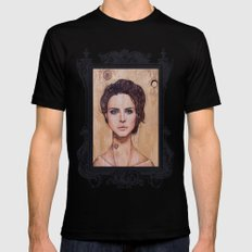 Lana, oh Lana! Mens Fitted Tee SMALL Black