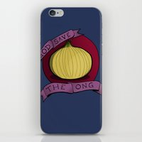 God Save The Ong iPhone & iPod Skin