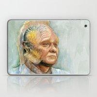 Neelix Star Trek Watercolor Portrait Laptop & iPad Skin