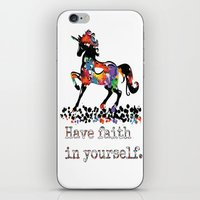 Have Faith In Yourself iPhone & iPod Skin