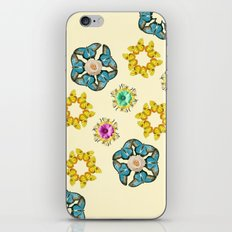 hippie butterfly iPhone & iPod Skin