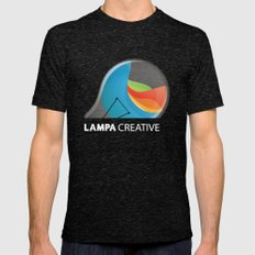 Lampa Creative Logo Mens Fitted Tee Tri-Black SMALL