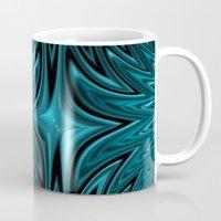 Zigzag in blue Mug