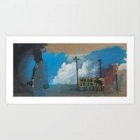Thunderhead Print Art Print