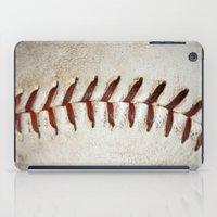 Vintage Baseball Stitching iPad Case