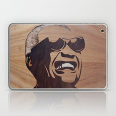 Ray Charles marquetry Laptop & iPad Skin
