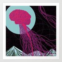 Free Yo Mind Art Print