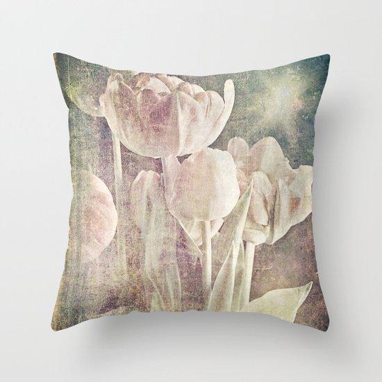 enchanted spring Throw Pillow
