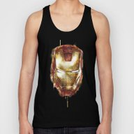 Iron Man Unisex Tank Top