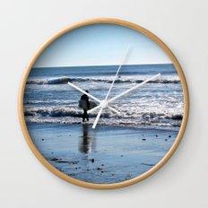 Surfer Wall Clock