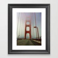 San Francisco: Golden Ga… Framed Art Print