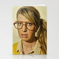 i.am.nerd. :: lizzy c. Stationery Cards