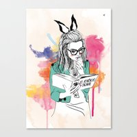 Aparências Canvas Print