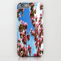 iPhone & iPod Case featuring Sky/Flowers by Alyssa