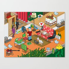 Party! Canvas Print