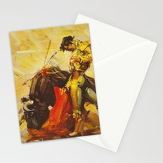 Vintage Mexico Bullfighting Travel Stationery Cards
