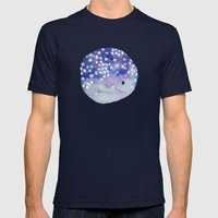Stars In Your Eyes Mens Fitted Tee Navy SMALL